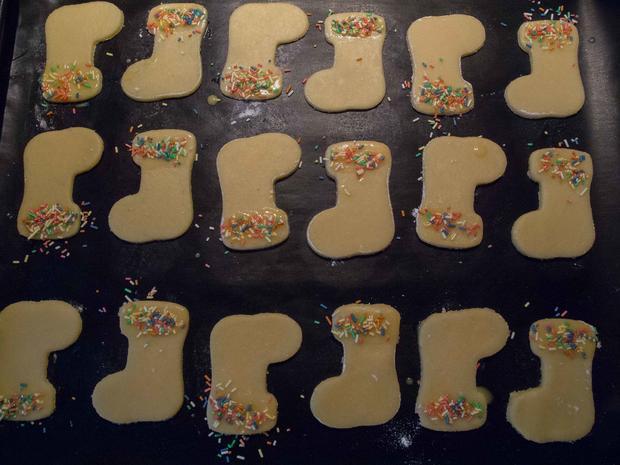 Plätzchen: Butterplätzchen - Rezept - Bild Nr. 3