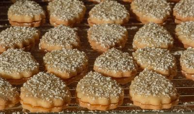 Rezept: Plätzchen: Aprikosenblätter