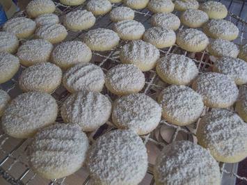 Rezept: Plätzchen: Schneeflöckchen