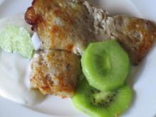 glutenfreie Pancakes aus drei Zutaten - Rezept
