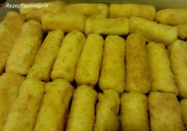 Kartoffel:   KROKETTEN - Rezept