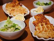 Fried Chicken mit Waffeln & Sour Cream - Rezept - Bild Nr. 2