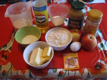 Apfel Streusel Kuchen - Rezept