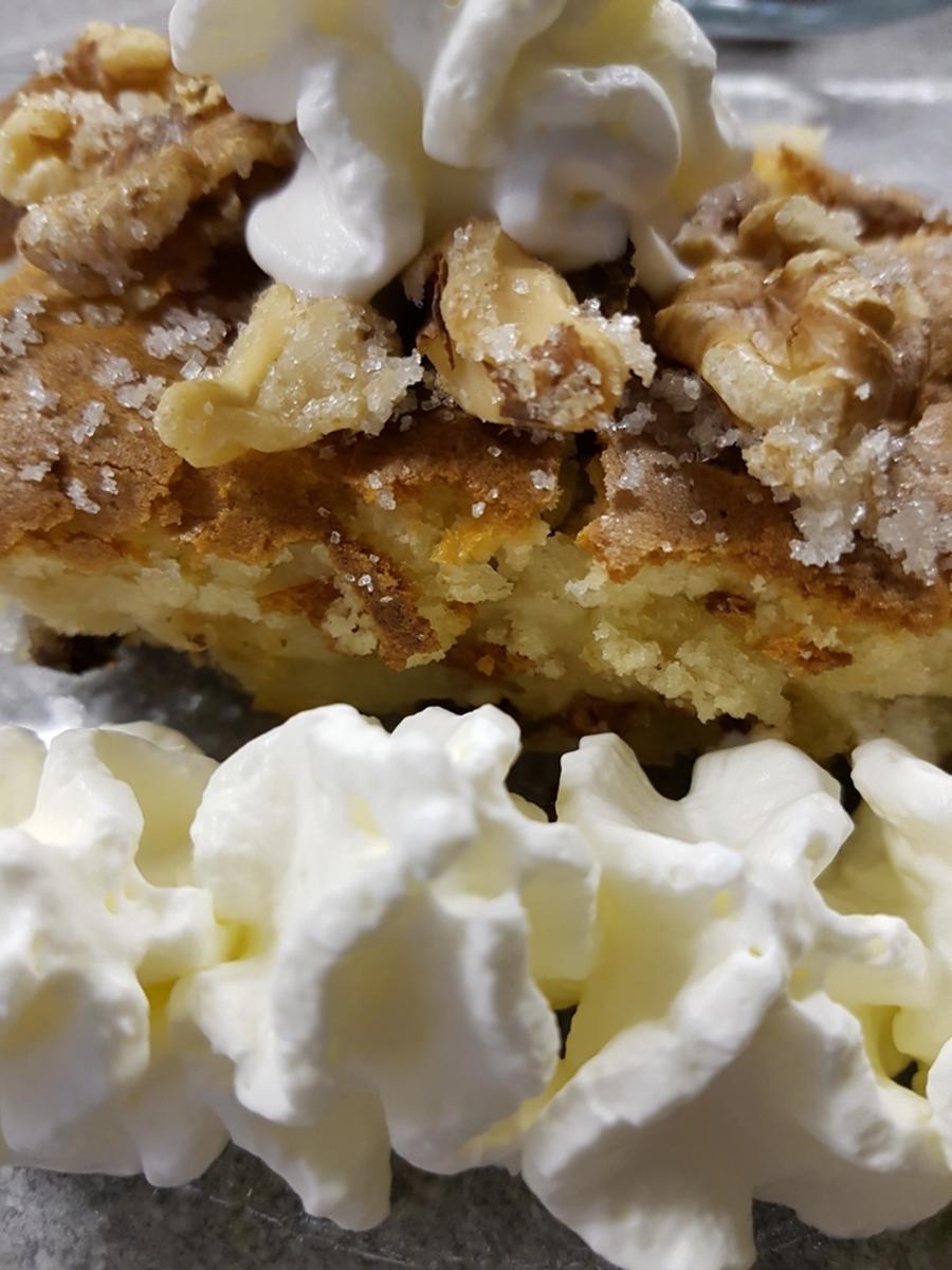 Oma Loffel S Kuchen Schneller Apfelkuchen Als Blechkuchen