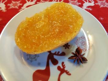 Weihnachtliche Orangen - Konfitüre mit Schwips ... - Rezept