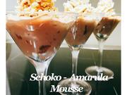 BiNe` S SCHOKO - AMARULA - MOUSSE - Rezept - Bild Nr. 2