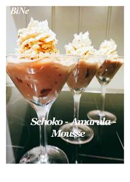 Rezept: BiNe` S SCHOKO - AMARULA - MOUSSE