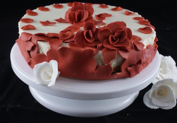 Glutenfreie torte fondant