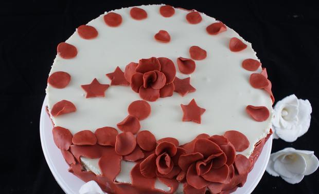 glutenfreie Panna Cotta Torte - Rezept - Bild Nr. 3