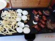 Dinner for one - der Mandi läßt sich nich unterkriegen, Dank Gelis Zuspruch; - Rezept - Bild Nr. 8