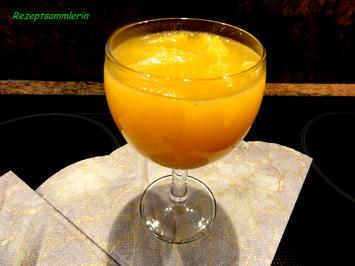 Dessert:   COINTREAU ~ ORANGEN - Rezept