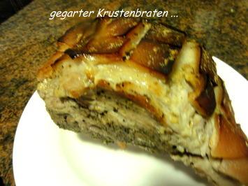 Fleisch:   KRUSTENBRATEN - Rezept