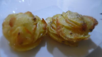Kartoffel-Parmesan-Türmchen - Rezept