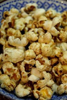 Zimt-Vanille-Popcorn mit Kokosöl - Rezept
