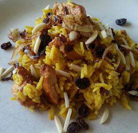 Pilaw Reis verfeinert mit Zimt und Safran - Rezept