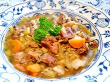 Irish Stew im Römertopf - Rezept