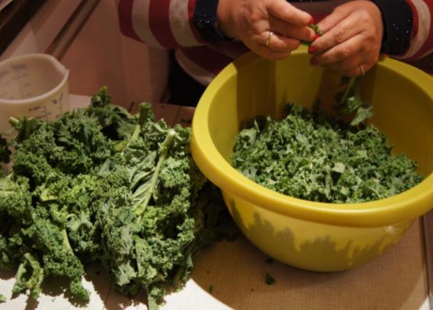 Eisbein mit Grünkohl und Drillingen - Rezept - Bild Nr. 6