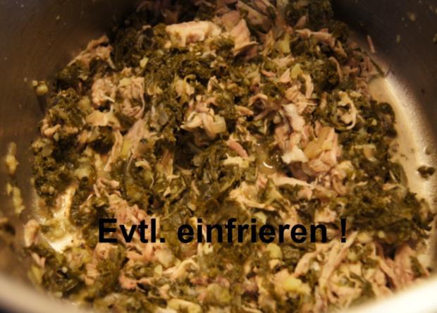 Eisbein mit Grünkohl und Drillingen - Rezept - Bild Nr. 13