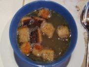 Knoblauchsuppe mit Einlage - Rezept