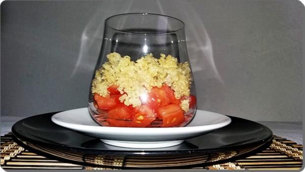 Schichtsalat ➯ im Glas ➯ auch für die Mittagspause im Büro - Rezept - Bild Nr. 1521