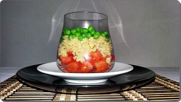 Schichtsalat ➯ im Glas ➯ auch für die Mittagspause im Büro - Rezept - Bild Nr. 1522