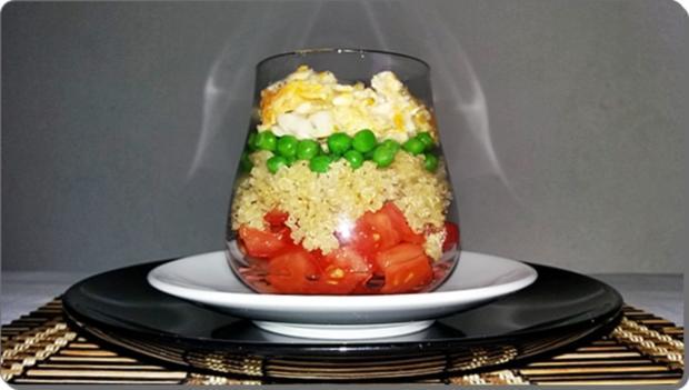 Schichtsalat ➯ im Glas ➯ auch für die Mittagspause im Büro - Rezept - Bild Nr. 1523