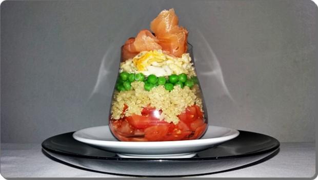Schichtsalat ➯ im Glas ➯ auch für die Mittagspause im Büro - Rezept - Bild Nr. 1533