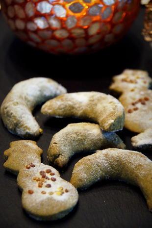 Matcha Kekse bzw. Plätzchen - Rezept