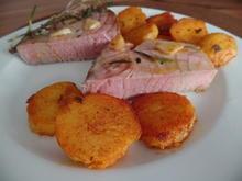 Thunfisch-Steak mit Bratkartoffeln - Rezept - Bild Nr. 1549