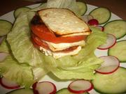 Tomaten-Käse-Türme - Rezept