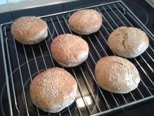 Burger Brötchen - Rezept