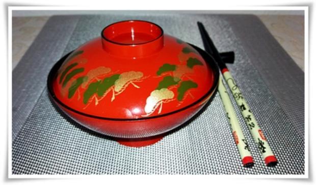 Asiatische ➯  Nudelsuppe mit  Garnelen - Rezept - Bild Nr. 1591