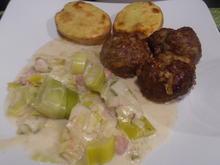 Rahm-Lauch-Gemüse - Rezept