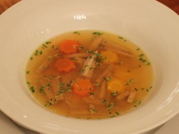 Rezept: Kalbssuppe vom Tafelspitz