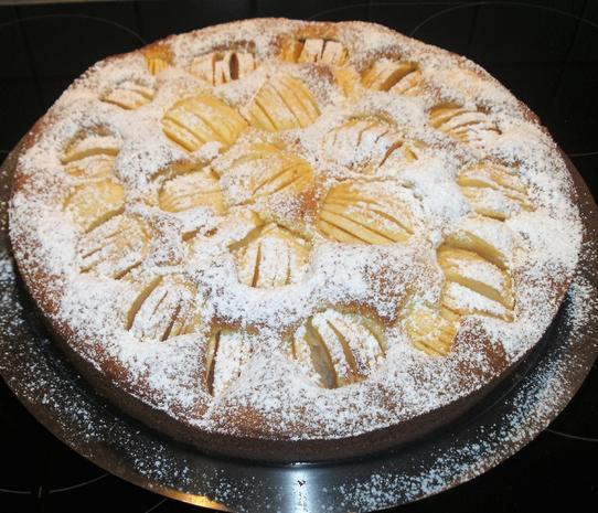 Apfelkuchen Mit Ruhrteig Rezept Mit Bild Kochbar De