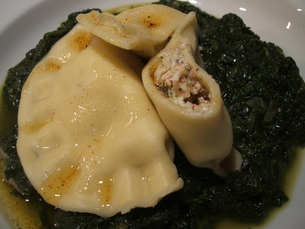 Pasta: Ravioli Ripieni Con Cancro Di Spinaci - Rezept - Bild Nr. 1636