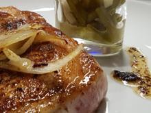 Fleisch / Schwein = Mangalic(tz)a Kottelet ist vom Wollschwein  à la Biggi - Rezept - Bild Nr. 12