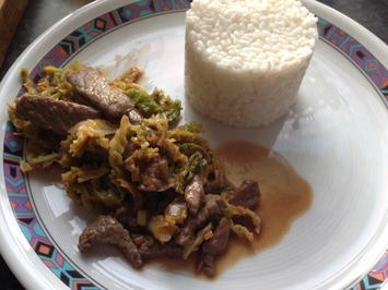Rezept: Mongolian Beef