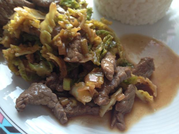 Mongolian Beef - Rezept - Bild Nr. 1666