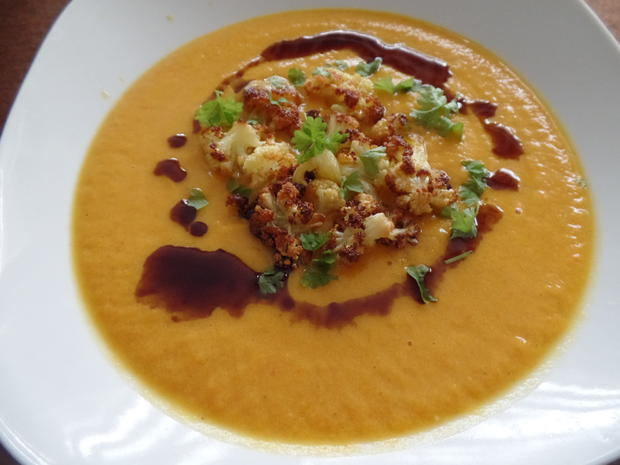 Kürbis-Apfel-Suppe - Rezept - Bild Nr. 1636