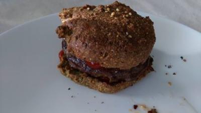 Rezept: Quinoa Hamburgerbrötchen