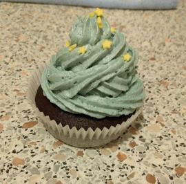 Rezept: Vegane Schokocupcakes mit Vanillefrosting