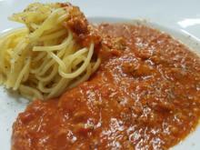 Spaghetti gekocht mit Spezialwürzung - Rezept - Bild Nr. 1671