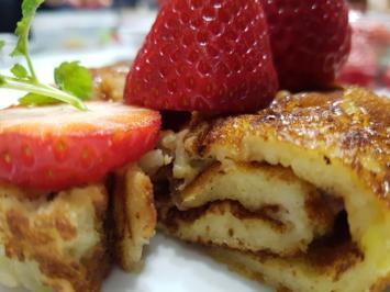"""Biggi`s Dessert = Pfannkuchen """"Grundrezept"""" heute mit Apfelspaghetti gepimpt - Rezept - Bild Nr. 1669"""