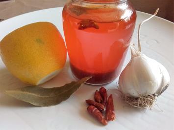 Rezept: Gewürzmarinade- Gewürzöl Piri-Piri