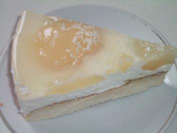 Rezept: Birnen Quark Kuchen