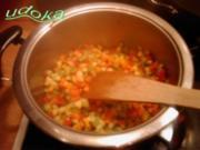 Chinesisch- Gekochter-Gemüsereis - Rezept