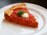 Vegetarische Paprika-Zwiebel-Lauch Quiche - Rezept - Bild Nr. 2