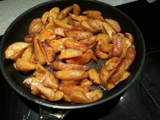 """Kartoffelspalten *Wedges"""" aromatisiert - Rezept - Bild Nr. 1705"""