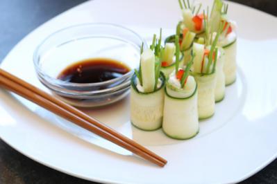 Vegetarisches Gemüse-Sushi - Rezept - Bild Nr. 1706